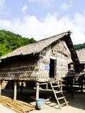 Phangnga, Таиланд 15-ое марта - диалект дома в Моргане, море g Стоковые Изображения