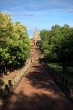 Phanom敲响了历史公园主要寺庙 免版税库存照片