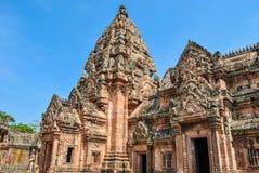 Phanom敲响了城堡历史公园、古庙和纪念碑 免版税库存图片