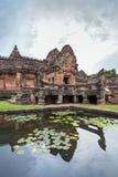 Phanom Dzwonił Dziejowego parka, Buriram prowincja, Tajlandia Zdjęcia Royalty Free
