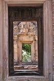 Phanom ha suonato il castello di pietra nel buriram, Tailandia Fotografia Stock Libera da Diritti