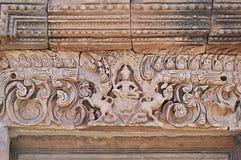 Phanom ha suonato il castello di pietra nel buriram, Tailandia Immagine Stock Libera da Diritti