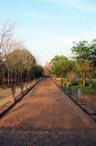 Phanom ringde stenslotten fördärvar av Buriram Thailand Fotografering för Bildbyråer