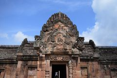 Phanom roong castle Royalty Free Stock Photography