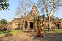 Phanom Rung hindu temple on Thailand Royalty Free Stock Image
