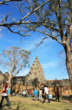 Phanom Rung historical park at Buriram Province,Thailand, Public architecture for travel. Sand stone castle Phanomrung Historical Park castle in Buriram province Stock Image