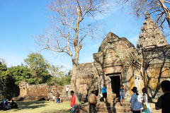 Phanom Rung historical park at Buriram Province,Thailand, Public architecture for travel Royalty Free Stock Images