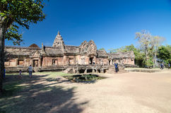 Phanom Rung Historical Park. Stock Image