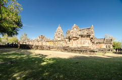 Phanom Rung Historical Park. Royalty Free Stock Images