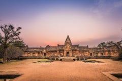 Phanom Rung historical park Royalty Free Stock Photos