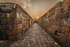 Phanom Rung historical park Stock Photo
