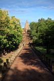 Phanom Rung Historical Park Main Temple. Phanom Rung name, Prasat Hin Phanom Rung , or Prasat Phnom Rong in Khmer, is a Khmer temple complex set on the rim of an Royalty Free Stock Photo