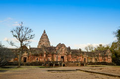 Phanom Rung Historical Park Royalty Free Stock Photography