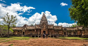 Phanom Rung historical park ,An old Architecture about a thousand years ago at Buriram Province,Thailand Royalty Free Stock Photos