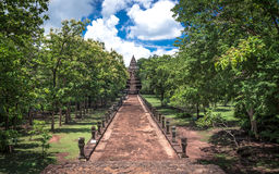 Phanom Rung historical park ,An old Architecture about a thousand years ago at Buriram Province,Thailand. Phanom Rung historical park ,An old Architecture about Stock Images