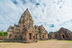 Phanom rung historical park Stock Image