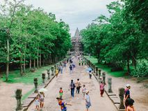 Phanom Rung Historical Park. In Surin province Royalty Free Stock Photography