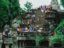 Phanom Rung Historical Park. In Surin province Royalty Free Stock Photos