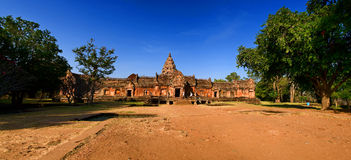 Phanom rung national park at Thailand Royalty Free Stock Photo