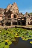 Phanom rung, Sandstone carved castle Stock Images