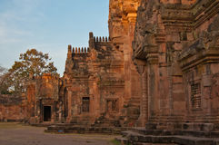 Phanom Rung Stone Castle Royalty Free Stock Photos