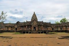 Phanom schellte historischen Park ist der Schloss-Felsen, der an Buriram-Provinz, Thailand alt ist lizenzfreies stockbild