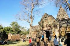 Phanom sonó el parque histórico en la provincia de Buriram, Tailandia, arquitectura pública para el viaje Imágenes de archivo libres de regalías