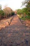 Phanom szczebla kamienia kasztelu ruina Buriram Tajlandia Zdjęcia Stock