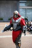 Phantastic cosplay costume Stock Photos