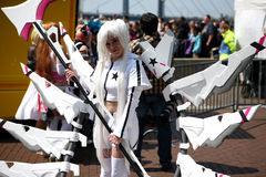 Phantastic cosplay outfit Royalty Free Stock Images