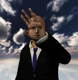 Phantasy Human. High Resolution 3D Illustration Phantasy Human Royalty Free Stock Image