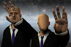 Phantasy Human. High Resolution Illustration Phantasy Human Stock Image