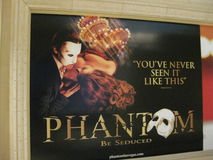 Phantom Billboard. A great stage show beautifully done and Royalty Free Stock Photo