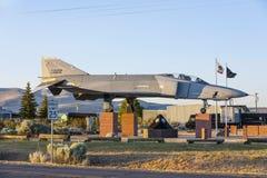 Phantom F4 Fighter at Veterans Royalty Free Stock Photography