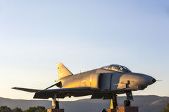Phantom F4 Fighter at Veterans Stock Photography