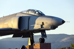 Phantom F4 Fighter at Veterans Royalty Free Stock Photography