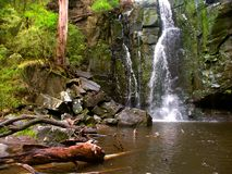 Phantom Falls Landscape Victoria Australia Stock Photography