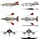 Phantom - Fighter Aircraft Stock Images