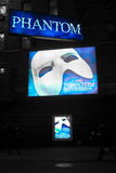 Phantom of the Opera billboards Stock Photos