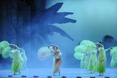 The phantom of the opera stage Stock Image
