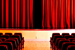 Phantom of the Opera or theater. The magic and the illusion of theater Royalty Free Stock Images