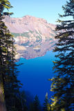 Phantom Ship. Crater Lake National Park, Oregon, United States Royalty Free Stock Photography