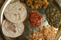 Phapar ko Roti - typowy jedzenie od Sikkim. Zdjęcia Stock
