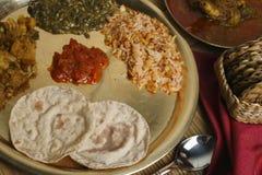 Phapar ko Roti - typowy jedzenie od Sikkim. Obrazy Royalty Free