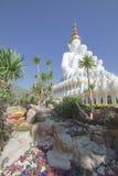Phapha verborgen glas (Wat Pha Kaew) stock foto's