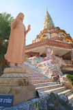 Phapha verborgen glas (Wat Pha Kaew) stock afbeelding