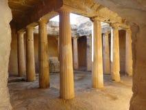 Phaphos en Chypre Photo libre de droits