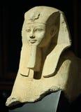 Pharao Amenhotep III als Sfinx Stock Afbeelding