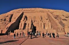 Pharao-Monument von Abu Simbel, Ägypten Stockbilder