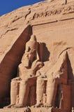 Pharao-Monument von Abu Simbel, Ägypten Lizenzfreies Stockbild
